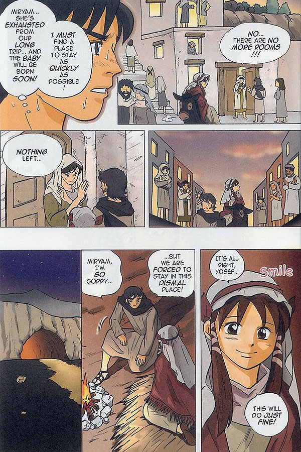 Manga Bible on Luke 2:1-7